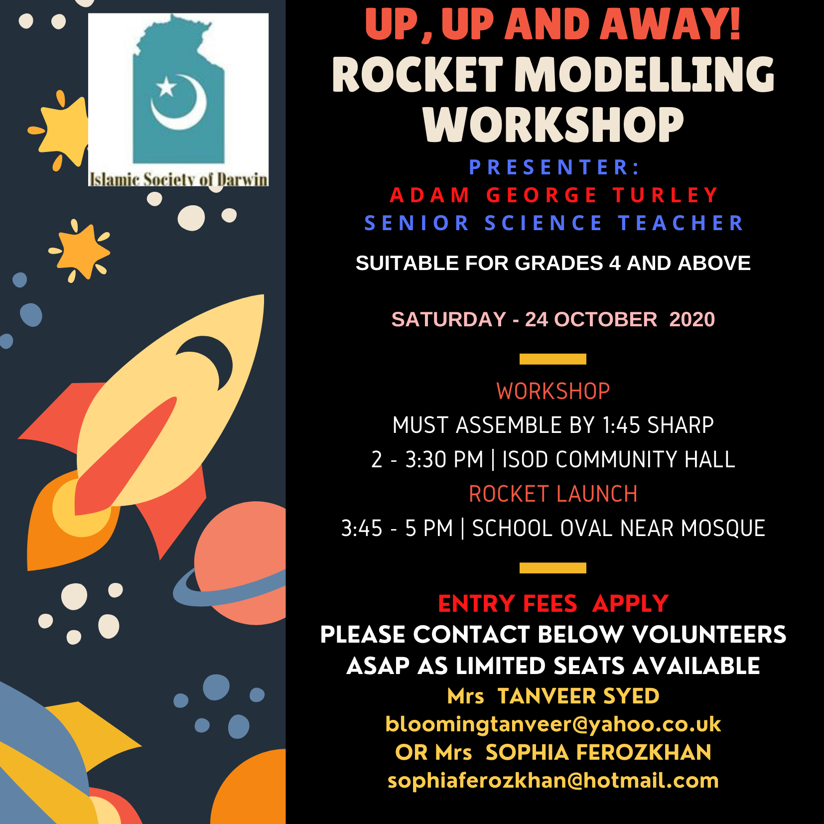 Rocket Modelling Workshop